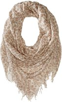 Chan Luu Women's Leopard Cashmere and Silk Scarf Scarf