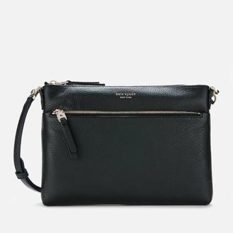 Kate Spade Women's Polly Medium Cross Body Bag - Black