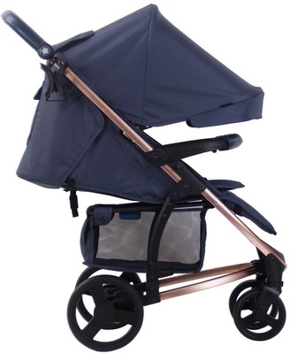 My Babiie Billie Faiers MB200+ Rose Gold & Navy Travel System