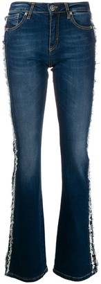 John Richmond Brigitte flared denim jeans