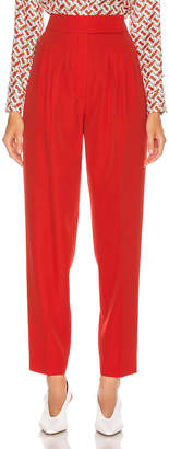 Burberry Marleigh Pant in Bright Red   FWRD