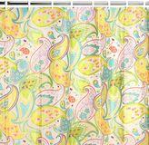 Creative Bath Cool Paisley Vinyl Shower Curtain