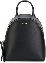 Donna Karan Saffiano mini backpack - women - Calf Leather - One Size