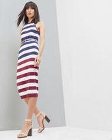 Ted Baker Rowing Stripe bodycon dress