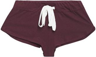 Eberjey Melange Slub Jersey Pajama Shorts