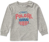 Ralph Lauren Cotton Long-Sleeve Graphic Tee