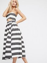 Mara Hoffman Cut Out Midi Dress by at Free People