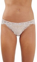 Topshop Women's Beautiful Metallic Lace Panty
