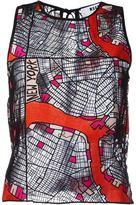 MSGM New York macramé lace top - women - Viscose/Polyester - 40