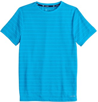 Tek Gear Boys 4-20 DryTek Striped Tee in Regular & Husky