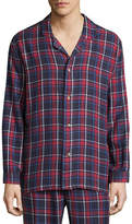Izod Flannel Pajama Top-Big