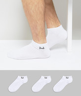 Pringle Sneaker Socks In 3 Pack