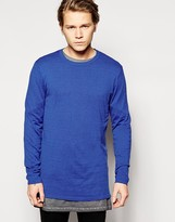 Asos Longline Sweater with Zips