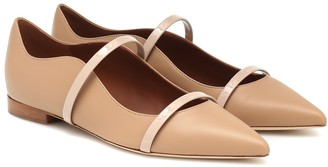 Malone Souliers Maureen leather ballet flats