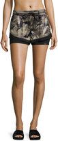 Koral Activewear Division Double-Layer Shorts, Multi