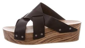 Proenza Schouler Crossover Platform Wedges w/ Tags