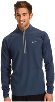 Tiger Woods Golf Apparel by Nike Nike Golf 1/2 Zip Cover-Up (Squadron Blue) - Apparel