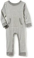 Infant Girl's Peek Stripe Romper