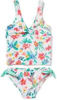 Old Navy Printed Twist-Front Tankini for Girls