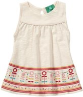 Little Green Radicals 'Lollipop Flower' Dress (Baby) - Powder-3-6 Months