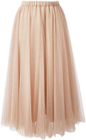 Rochas elasticated waistband tulle skirt