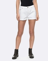 Roxy Womens Cosy Moment White Denim Short