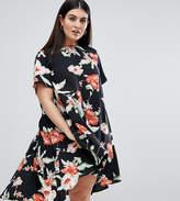 AX Paris Plus Plus Floral Swing Dress
