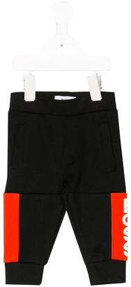 Boss Kidswear Color-Block Track Pants