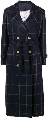 Giuliva Heritage Collection The Christie check-print trench coat
