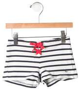 Petit Bateau Girls' Striped Shorts