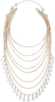 Lydell NYC Layered Multi-Strand Beaded Choker Necklace