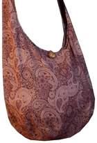 BenThai Products BTP! Thai Cotton Hippie Hobo Sling Crossbody Bag Messenger Purse Paisley Print