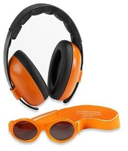 Banz Baby Boys and Girls Earmuff Sunglasses Combos