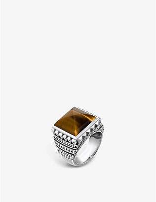 Thomas Sabo Rebel at heart mini skulls signet ring