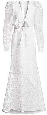 Rosie Assoulin Women's Victorian Lace A-Line Dress