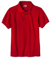 Dickies Little Boys' Pique Polo - Red M