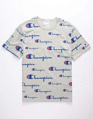 Champion Champ Script Mens T-Shirt