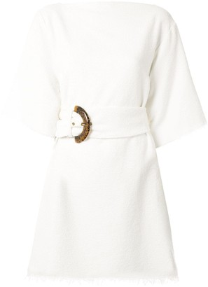 Bec & Bridge Ollie belted mini dress