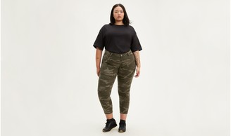 Levi's Camo 711 Ankle Skinny Women's Jeans (Plus Size)