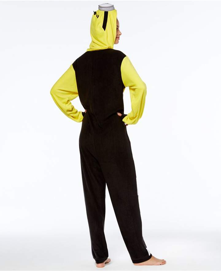 Briefly Stated Minion In Jail Hooded Jumpsuit