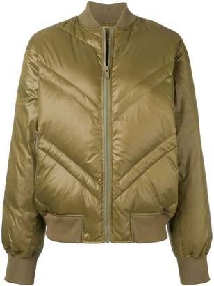 By Malene Birger padded bomber jacket