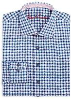 Robert Graham Boys' Check & Leaves Dress Shirt - Big Kid