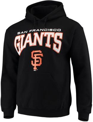 Stitches Men's Black San Francisco Giants Team Pullover Hoodie