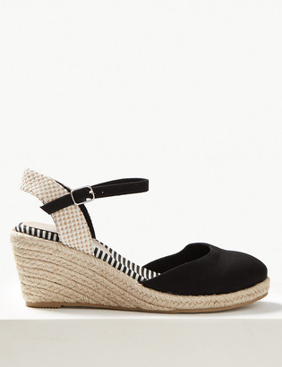 Marks and Spencer Wedge Heel Almond Toe Espadrilles