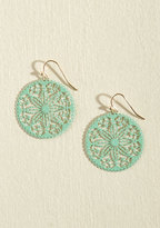 ModCloth Double, Double, Doily and Trouble Earrings