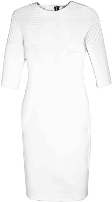 River Island White Sponge Dress for Women