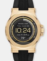 Michael Kors Smartwatch Dylan Black and Gold