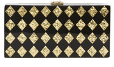 Milly Diamond Box Clutch