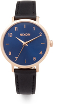 Nixon The Arrow Leather Watch, 38mm