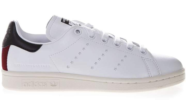 18bbcf1e6a4 Sneakers Stella X Stan Smith In White Faux Leather